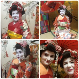 Dressed as Geishas, Kyoto, Japan