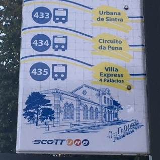 Buses in Sintra