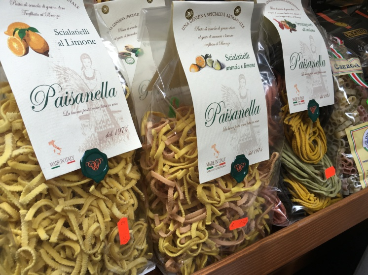 Pasta with additional flavors