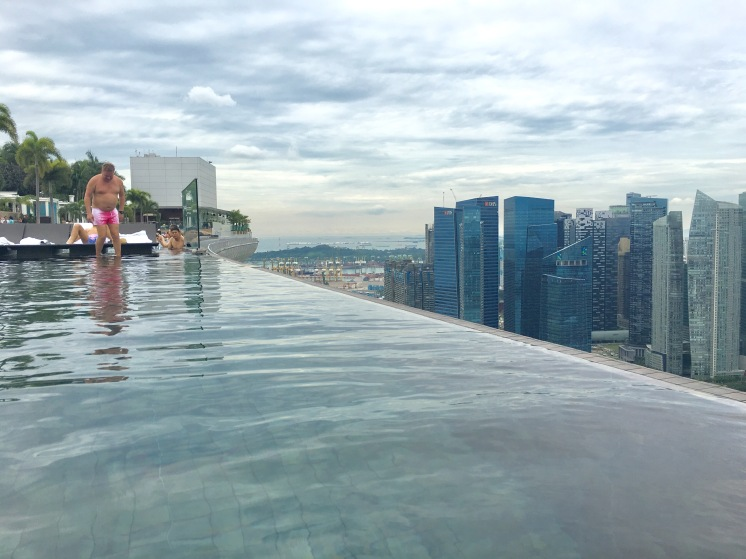 Marina Bay Sands infinity pool, Singapore