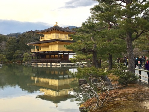 The Golden Pavillion, Kyoto, Japan