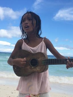 Philippine girl in Cebu Island